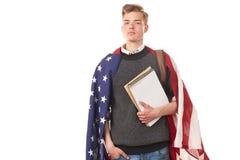 Amerykański student uniwersytetu Zdjęcie Stock
