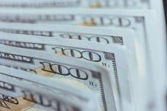amerykańskich dolarów Sto Dolarowych banknotów, 100 Zdjęcia Royalty Free