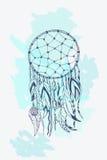 Amerykańskich indianów symbolu tradycyjny dreamcatcher Zdjęcie Stock