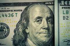 amerykańskie banka dolarów notatki Zdjęcie Royalty Free