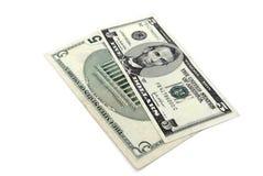 amerykańskie banka dolara notatki Zdjęcia Royalty Free