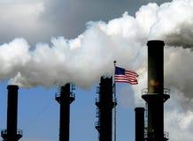 amerykańskie fabryki Zdjęcie Stock