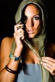 amerykańskie kobiety z mody modelu Fotografia Royalty Free
