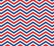 Ameryka usa gwiazdy Zygzakowaty Patriotyczny Deseniowy Backgroun I lampas ilustracji