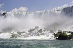 Amerykan spadki w Niagara spadkach Obraz Royalty Free