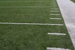 amerykan yardlines śródpolni futbolowi Zdjęcie Royalty Free