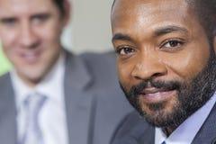 Amerykanin Afrykańskiego Pochodzenia Biznesmen Obraz Stock