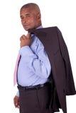 Amerykanin Afrykańskiego Pochodzenia biznesowego mężczyzna czerń Obrazy Stock
