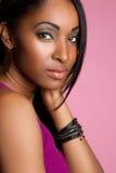 amerykanin afrykańskiego pochodzenia dziewczyna Zdjęcia Royalty Free