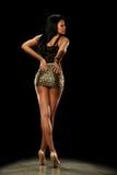 Amerykanin afrykańskiego pochodzenia młoda Kobieta obrazy royalty free
