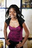 amerykanin afrykańskiego pochodzenia nastoletni Obraz Royalty Free