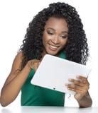 amerykanin afrykańskiego pochodzenia piękny Zdjęcia Royalty Free