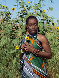 amerykanin afrykańskiego pochodzenia potomstwo kobiety potomstwa zdjęcia royalty free