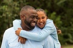 amerykanin afrykańskiego pochodzenia rodzina obraz royalty free