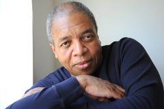 Amerykanin afrykańskiego pochodzenia samiec. obrazy stock
