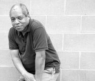 Amerykanin afrykańskiego pochodzenia samiec wyrażenia Obrazy Stock