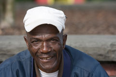 amerykanin afrykańskiego pochodzenia starszych osob mężczyzna fotografia stock