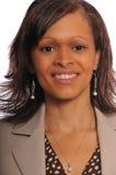 amerykanin afrykańskiego pochodzenia bizneswoman Obrazy Stock