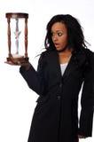 amerykanin afrykańskiego pochodzenia bizneswoman Obraz Stock