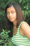 amerykanin afrykańskiego pochodzenia kobieta Obrazy Royalty Free