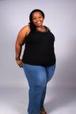 amerykanin afrykańskiego pochodzenia kobieta Zdjęcia Royalty Free