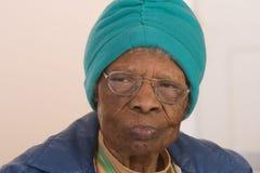 amerykanin afrykańskiego pochodzenia kobieta Zdjęcie Stock