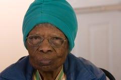 amerykanin afrykańskiego pochodzenia kobieta Obraz Royalty Free