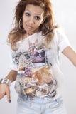 amerykanin afrykańskiego pochodzenia kobieta Obraz Stock