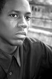 amerykanin afrykańskiego pochodzenia samiec Zdjęcia Stock