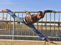 Amerykanin Afrykańskiego Pochodzenia tancerz. Obrazy Stock