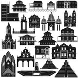 Amerykanin Architecture-2 Obraz Stock
