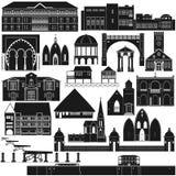 Amerykanin Architecture-3 Obraz Stock