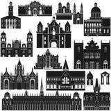 Amerykanin Architecture-6 Zdjęcia Royalty Free