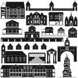 Amerykanin Architecture-4 Obraz Stock