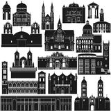 Amerykanin Architecture-5 Zdjęcia Royalty Free