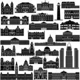 Amerykanin Architecture-7 Zdjęcia Royalty Free