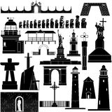 Amerykanin Architecture-8 Obrazy Stock