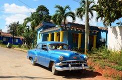 Amerykanin Chevrolet w Vinales, Kuba Obraz Royalty Free
