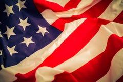 Amerykanin (Filtrujący wizerunek przetwarzający rocznika skutek ) zdjęcie stock