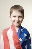 amerykanin flagę Zdjęcie Stock