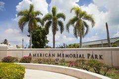 Amerykanin Memorial Park, Saipan zdjęcia royalty free