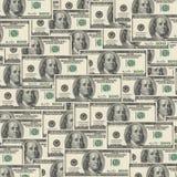 Amerykanin Sto Dolarowych rachunków royalty ilustracja