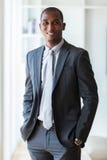 Amerykanina afrykańskiego pochodzenia biznesowy mężczyzna - murzyni Obrazy Royalty Free