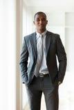 Amerykanina afrykańskiego pochodzenia biznesowy mężczyzna - murzyni Obraz Royalty Free