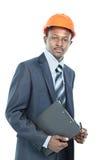 Amerykanina afrykańskiego pochodzenia inżynier Zdjęcia Stock