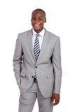 amerykanina afrykańskiego pochodzenia korporacyjny pracownik obrazy royalty free