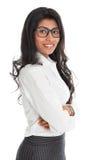 Amerykanina Afrykańskiego Pochodzenia bizneswomanu portret Zdjęcia Stock
