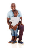 Amerykanina afrykańskiego pochodzenia mężczyzna chłopiec Obrazy Royalty Free
