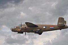 Amerykanina B-25 Mitchell bombowiec Zdjęcia Stock