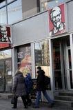 AMERYKANINA KFC ŁAŃCUSZKOWA restauracja Obrazy Stock